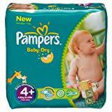 Pampers Baby Dry Size 4+ Maxi Plus Monthly Pack--152 Nappies