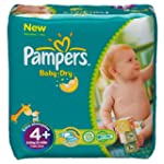 Pampers Baby Dry Size 4+ Maxi Plus Mo...