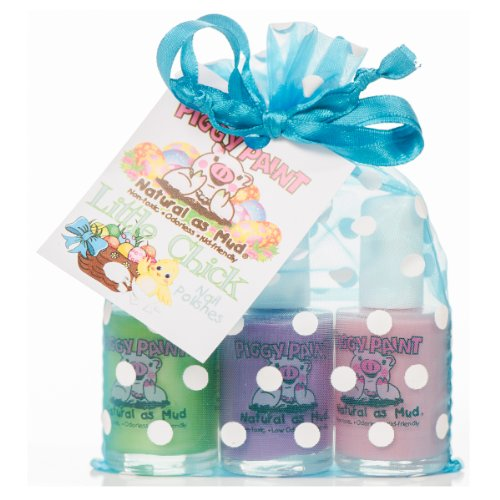 Piggy Paint Nail Polish Gift Set, Little Chick