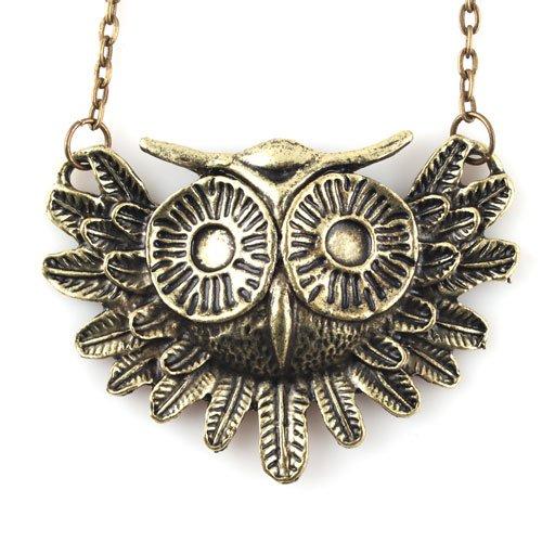 Fashion Charming New Lovely Style Retro Night Owl Pendant Necklace BuyinCoins