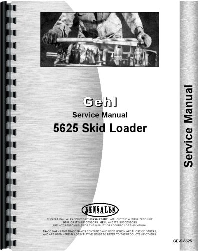 Skid Steer GEHL Service Manual