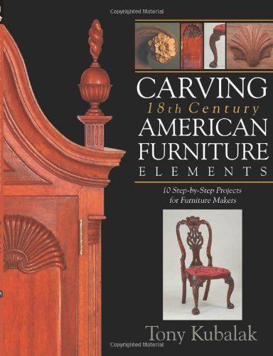 Carving 18th Century American Furniture Elements: 10 Step-by-Step Projects for Furniture Makers