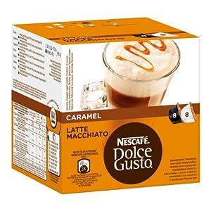 Buy Nescafé Dolce Gusto Caramel Latte Macchiato, 16 Capsules (8 Servings) by Nestl