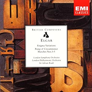 Elgar - Orchestral Works - Enigma Variations - Pomp & Circumstance Marches Nos. 1-5 from EMI