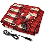 """Camco 42804 Red 59"""" x 43"""" 12V Heated Blanket"""