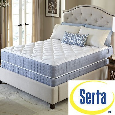 Serta Revival Firm Queen-Size Mattress And Box Spring Set