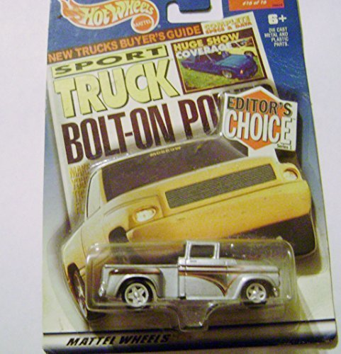 2000 Hot Wheels Sport Truck Bolt-On Power '56 Chevy Flashsider Truck #16 of 16