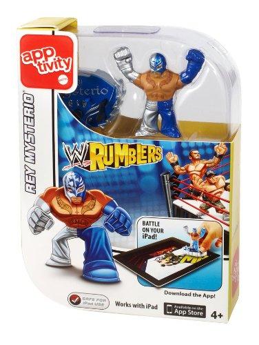 WWE Rumblers Apptivity Rey Mysterio Figure - 1