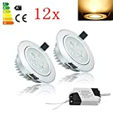 HD2014 12 x 5W LED Spot Set 85-265V AC