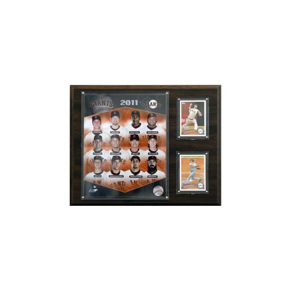 MLB  San Francisco Giants 2011 Team Plaque