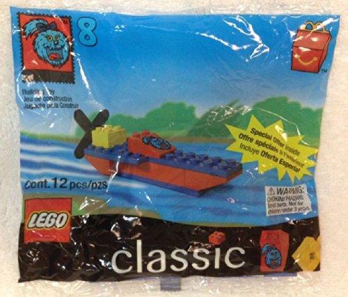McDonalds Lego Classics #8 Boat 1999 - 1