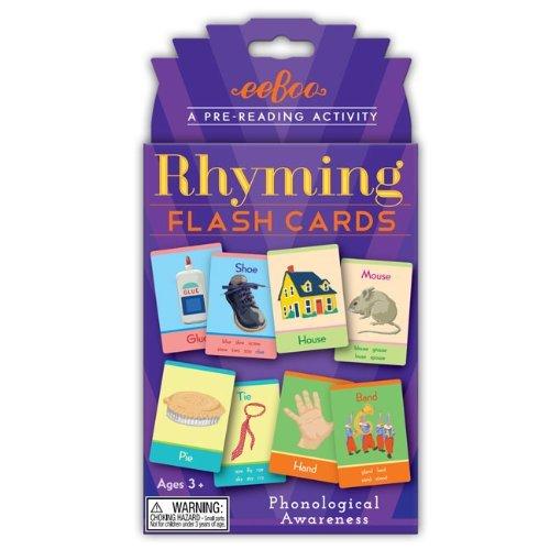 eeBoo Flash Cards Rhyming - 1
