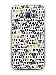 Cover Affair Aztec Printed Back Cover Case for Samsung Galaxy J3