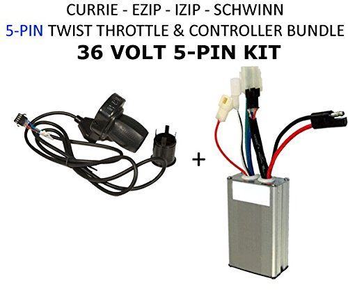 Currie Tech 36 Volt Electrical Kit  for 36 Volt Ezip, Schwinn, & Currie Electric Scooters