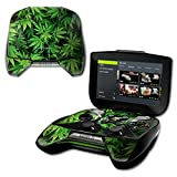 MightySkins Protective Vinyl Skin Decal for NVIDIA Shield Portable Cover wrap Skins Sticker Weed (Color: Weed, Tamaño: NVIDIA Shield Portable)
