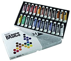 Liquitex BASICS Acrylic Paint Tube 24-Piece Set by Liquitex