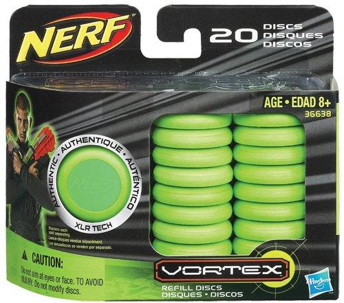 Imagen principal de Nerf 366381480 Nerf Vortex - Paquete de 20 discos para lanzadardos