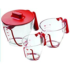 Zyliss Mix-n-Measure Measuring Cup Set with Lid (13850)