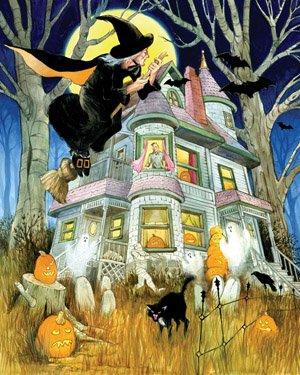 All Hallows Eve Halloween Jigsaw Puzzle 1000 Piece