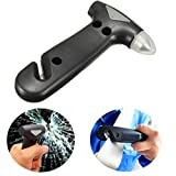 CAMTOA Notfallhammer lebensrettende Hammer Gurtschneider 2 in 1 Werkzeug für