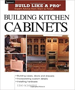 Woodworking kitchen cabinet building books plans pdf for Building traditional kitchen cabinets by jim tolpin