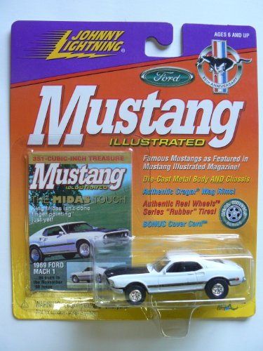 Johnny Lightning Mustang Illustrated 1969 Ford Mach 1 - 1
