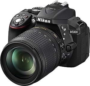 Nikon D5300 Appareil photo numérique Reflex 24.2 Kit Objectif AF-S DX Nikkor 18-105 mm Noir
