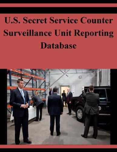 U.S. Secret Service Counter Surveillance Unit Reporting Database