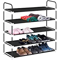 MaidMAX 5 Tiers Shoe Rack (Black)