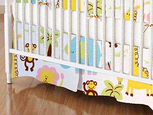 Portable Crib Dust Ruffle