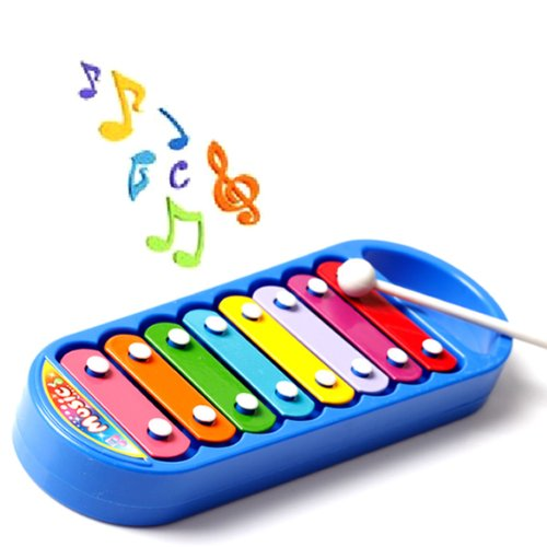 Child Kid 8-Note Xylophone Smart Clever Wisdom Development Musical Toy front-553032