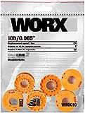 WORX WA0010 Replacement 10-Foot Grass Trimmer/Edger Spool Line 6-Pack for WG150, WG151, WG152, WG155, WG165, WG166, WG160, WG167, WG175