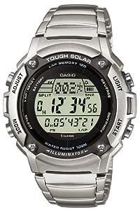 Casio - W-S200HD-1AVEF - Montre Homme - Quartz - Digitale - Bracelet Acier inoxydable Argent