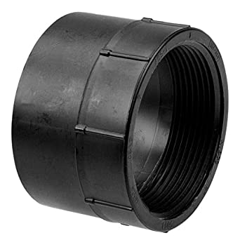 NIBCO 5803 Series ABS DWV Pipe Fitting, Adapter, Schedule 40, Hub x NPT Female