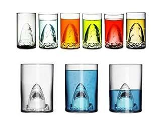 Yamimi Sharks Assault glass cup Big 350ml beer juice mug