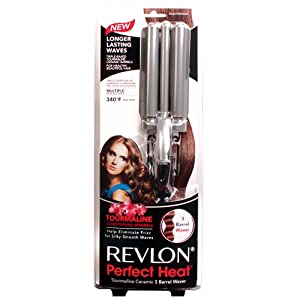 Revlon Perfect Heat 3 Barrel Waver