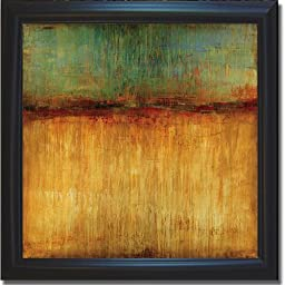 Desert Sunset by Liz Jardine Premium Satin-Black Framed Canvas (Ready to Hang)