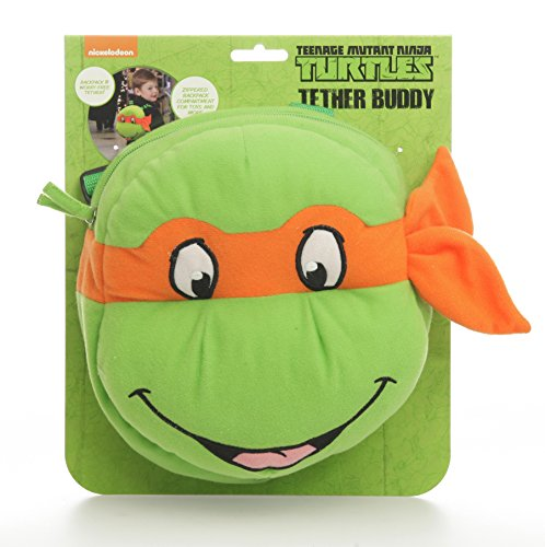 Teenage Mutant Ninja Turtles Tether Buddy, Green (Discontinued by Manufacturer)