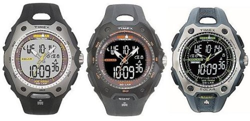 Timex Ironman Solar 50-Lap-Dual Tech Feature-Full