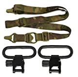 Ultimate Arms Gear Set of Two Black Steel 1.25