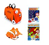 Holiday Bundle Trunki TIPU & 2 Travel Games Connect 4 & Hungry Hippos