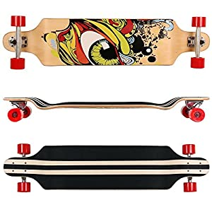 Rimable 41 Inch Drop Deck Complete Longboard by Rm