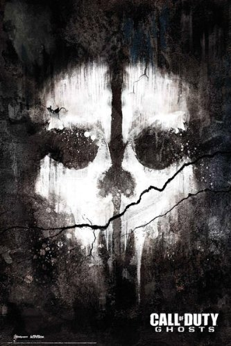 "MoviePostersDirect - Maxi poster ""Call Of Duty Ghosts Skull"", 61 x 91,5 cm"