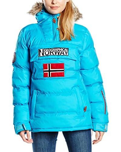 Geographical Norway Abrigo Bolide Turquesa XL (FR 42/44)