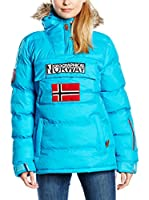 Geographical Norway Abrigo Bolide (Turquesa)
