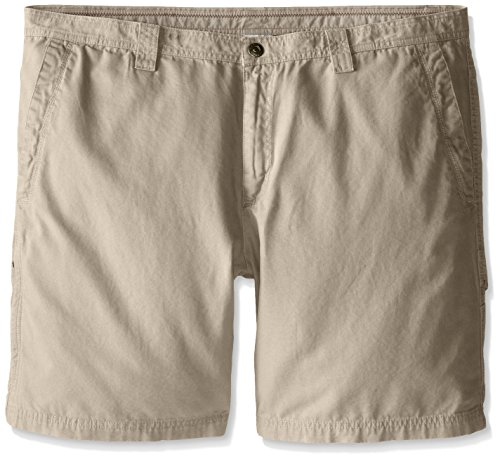 Columbia Men's Big-Tall Ultimate Roc Short, Fossil, 48x11 Columbia Canvas Shorts