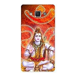 Cute Shiv Omkara Multicolor Back Case Cover for Samsung Galaxy A5