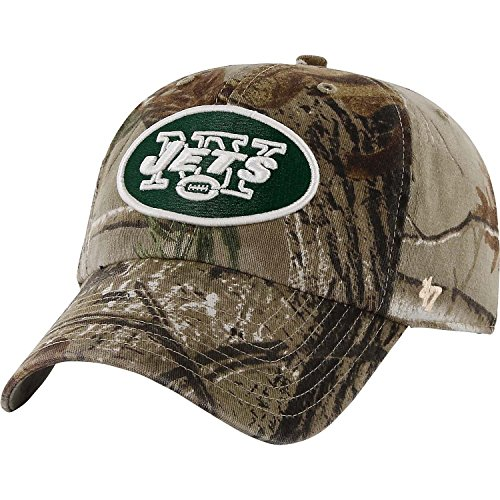 '47 Brand New York Jets NFL Realtree Camo Clean Up Cap