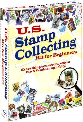 U.S. Stamp Collecting Kit for Beginners (English and English Edition)