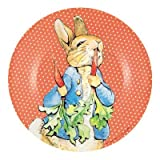 Melamine Peter Rabbit with Carrots Children's Plate
